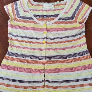 Anthrpologie Sparrow striped sweater